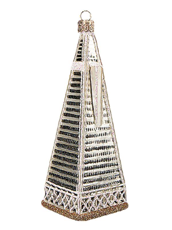 San Francisco Transamerica Pyramid Tower Polish Mouth Blown Glass ...