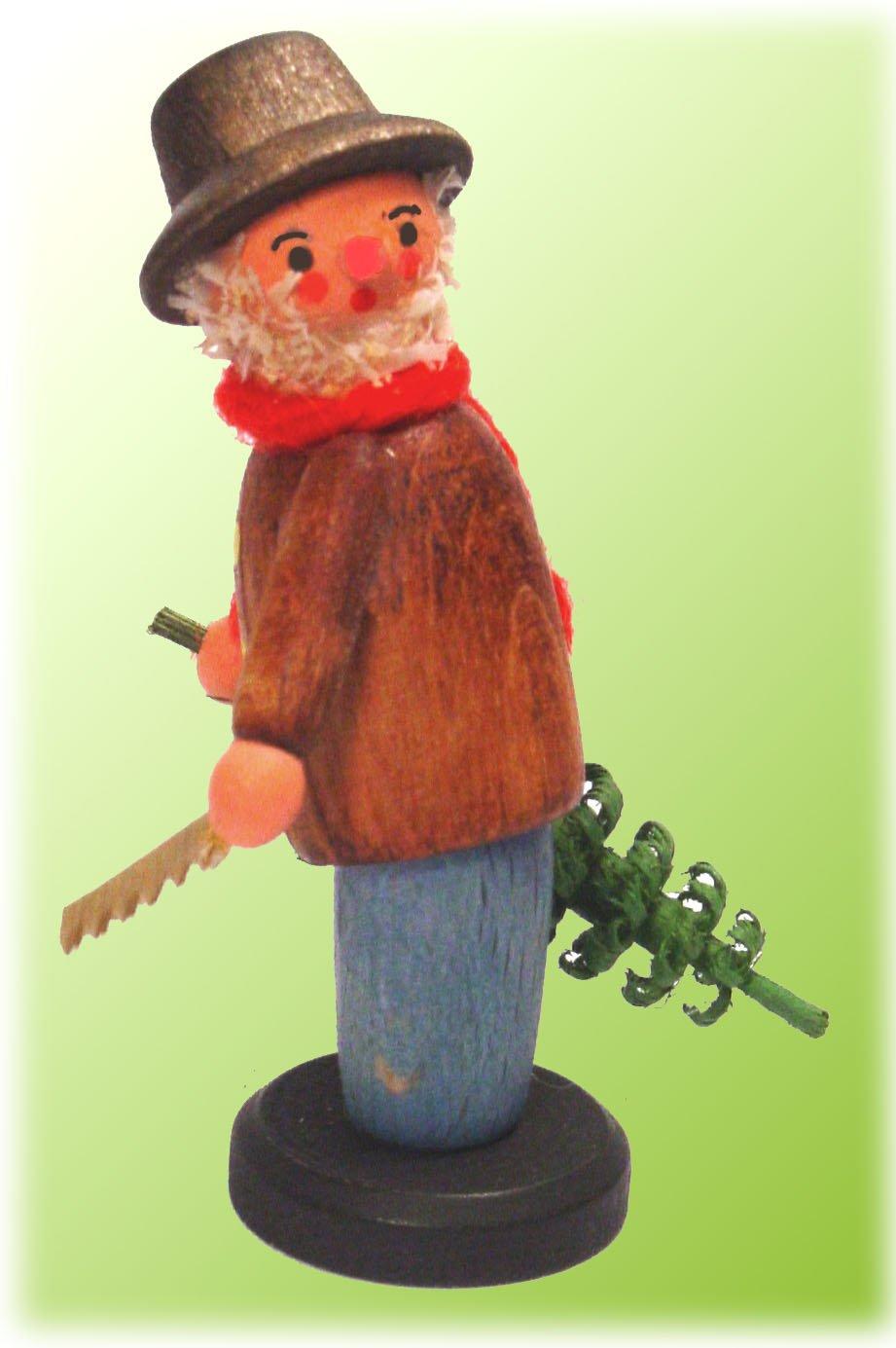 ... 75 Erzgebirge German Handcrafted Wood Miniature Christmas Tree Cutter