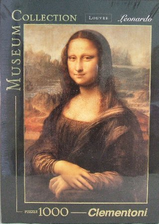 PINNACLE PEAK Mona Lisa 1000 Piece High Quality Italian Puzzle at Sears.com