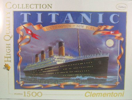 PINNACLE PEAK Titanic 1500 Piece High Quality Italian Puzzle at Sears.com