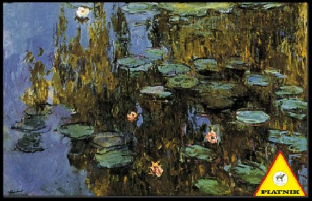 PINNACLE PEAK Monet Water Lilies 1000 Piece High Quality Austrian Puzzle at Sears.com