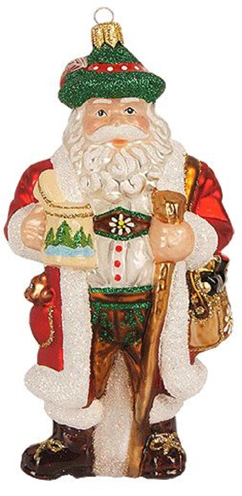 Bavarian With Stein Polish Gl Christmas Tree Ornament Germany