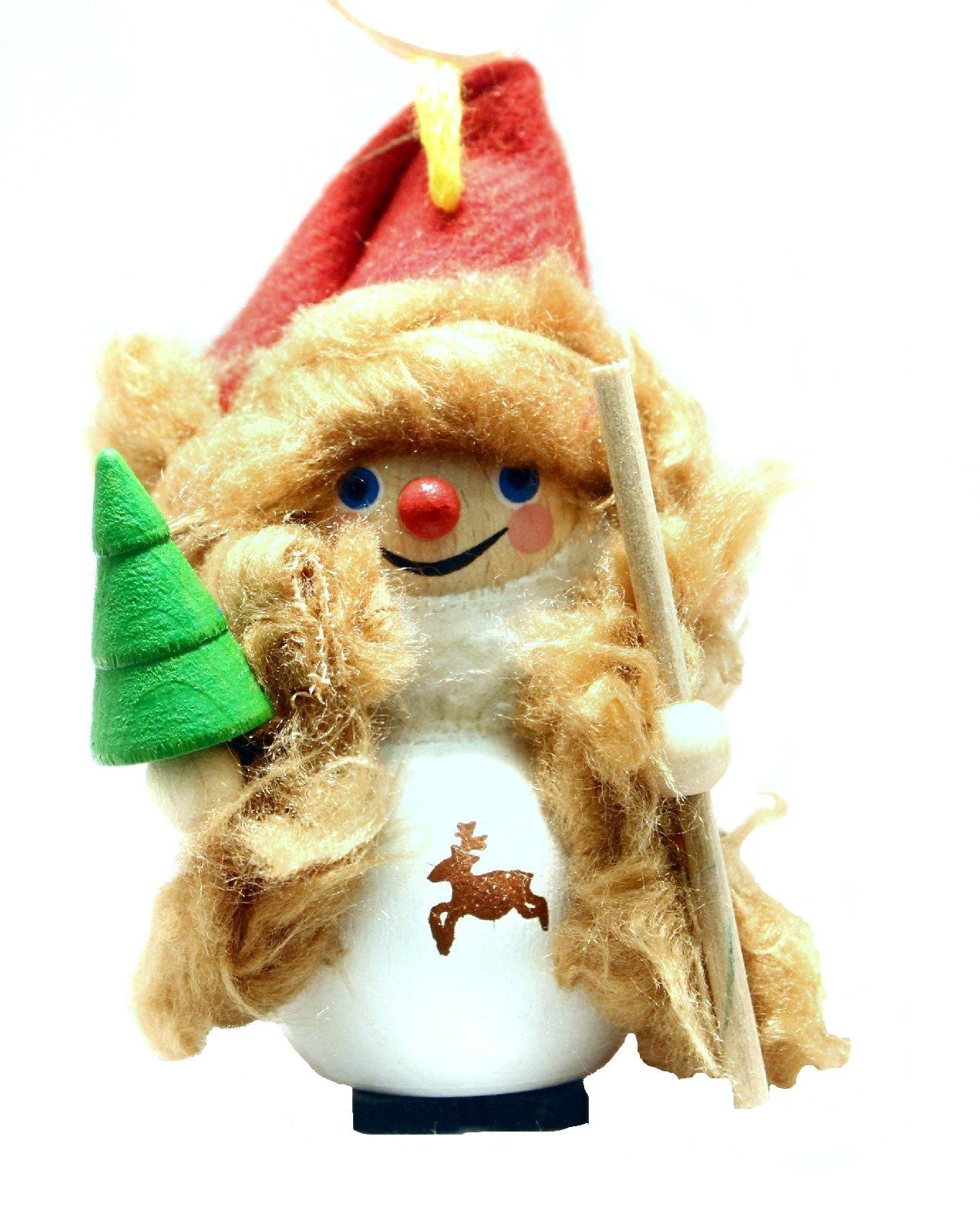 ... Bavarian Santa Steinbach Wood German Christmas Tree Ornament | eBay