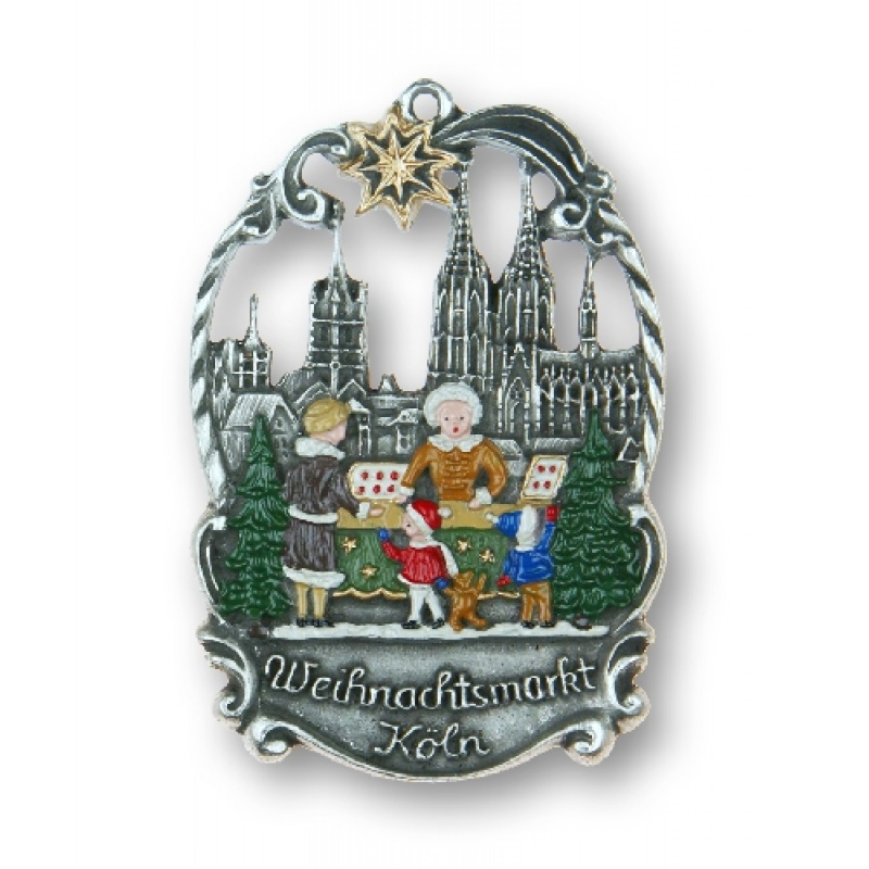 Koln cologne city germany christmas market german pewter
